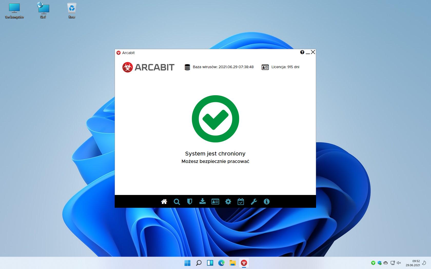 Arcabit chroni Windows 11